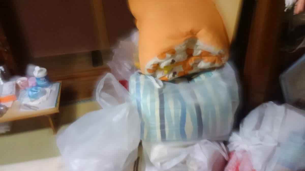 衣服など布団類の不用品